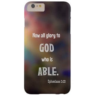 Caso más del iPhone 6 del 3:20 de Ephesians Funda Barely There iPhone 6 Plus