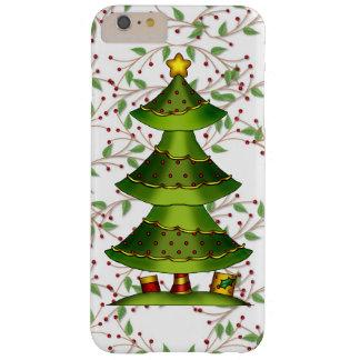 Caso más del iPhone 6 del árbol de navidad apenas Funda De iPhone 6 Plus Barely There