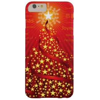 Caso más del iPhone 6 del árbol de navidad Funda Para iPhone 6 Plus Barely There