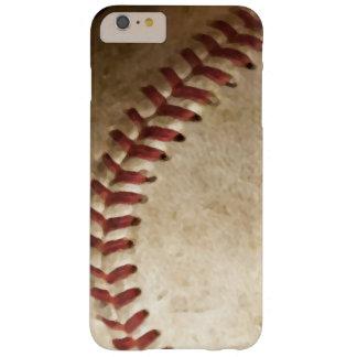 Caso más del iPhone 6 del arte del béisbol del Funda De iPhone 6 Plus Barely There