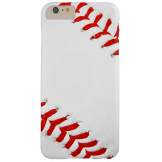 Caso más del iPhone 6 del béisbol Funda Para iPhone 6 Plus Barely There