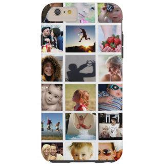 Caso más del iPhone 6 del collage de la foto Funda De iPhone 6 Plus Tough