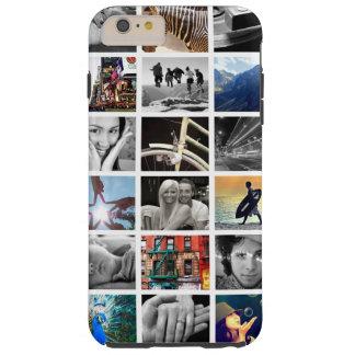 Caso más del iPhone 6 del collage de la foto Funda Para iPhone 6 Plus Tough