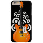 Caso más del iPhone 6 del diseño de la guitarra Funda De iPhone 6 Plus Barely There