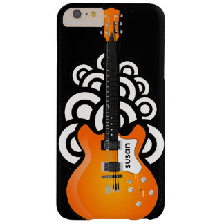 Caso más del iPhone 6 del diseño de la guitarra Funda De iPhone 6 Plus Barely There
