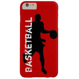 Caso más del iPhone 6 del tema del baloncesto Funda Para iPhone 6 Plus Barely There