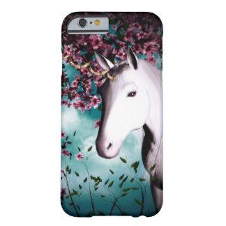 caso más del iPhone 6 del unicornio Funda De iPhone 6 Barely There