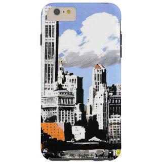Caso más del iPhone 6 del viaje de New York City Funda De iPhone 6 Plus Tough