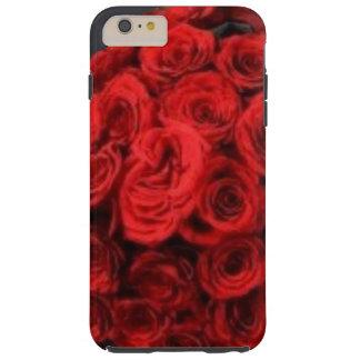 Caso más del iPhone 6 duros clásicos de los rosas Funda De iPhone 6 Plus Tough
