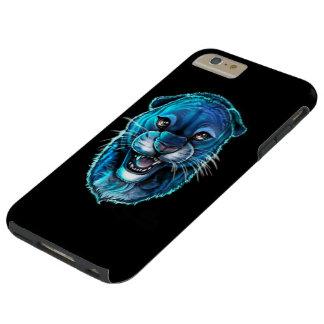 Caso más del iPhone 6 duros de la pantera negra Funda Resistente iPhone 6 Plus