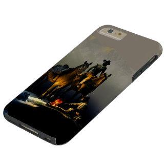 Caso más del iPhone 6 duros de los vaqueros y de Funda Para iPhone 6 Plus Tough