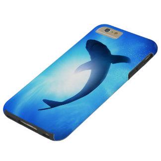 Caso más del iPhone 6 duros del tiburón Funda Para iPhone 6 Plus Tough