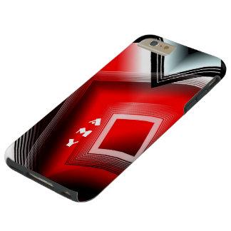 Caso más del iPhone 6 duros geométricos del arte Funda De iPhone 6 Plus Tough