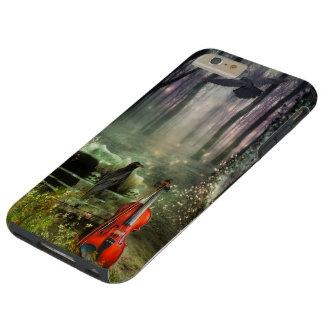 Caso más del iPhone 6 duros góticos del Dreamland Funda Para iPhone 6 Plus Tough