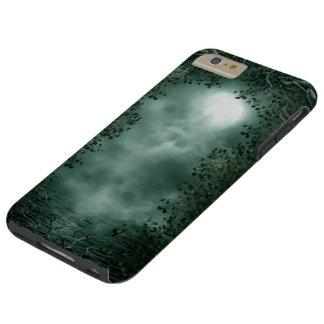 Caso más del iPhone 6 duros verdes místicos del Funda Para iPhone 6 Plus Tough