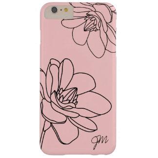 Caso más del iPhone 6 florales elegantes del Funda De iPhone 6 Plus Barely There