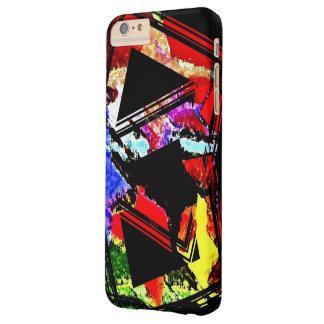 Caso más del iPhone 6 geométricos a todo color de Funda De iPhone 6 Plus Barely There