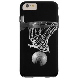 Caso más del iPhone 6 negros y blancos del Funda Resistente iPhone 6 Plus