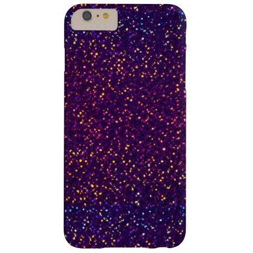 Caso más del iPhone 6 púrpuras azules del modelo Funda De iPhone 6 Plus Barely There