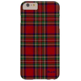 Caso más del iPhone 6 rojos del diseño de la tela Funda Para iPhone 6 Plus Barely There