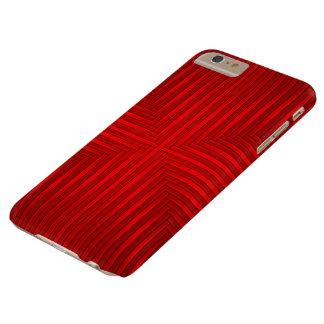 Caso más del iPhone 6 rojos del modelo de las Funda De iPhone 6 Plus Barely There