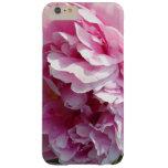 Caso más del iPhone 6 rosados del Peony Funda De iPhone 6 Plus Barely There