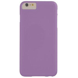 Caso más del iPhone 6 sólidos de la violeta Funda De iPhone 6 Plus Barely There