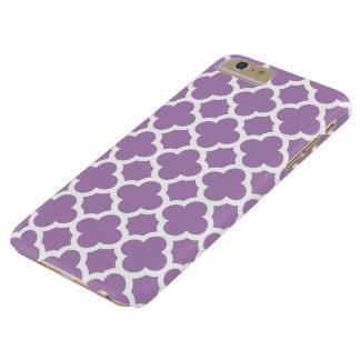 caso más del iPhone 6 - violeta africana Funda Para iPhone 6 Plus Barely There