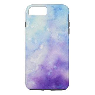 Caso más del iPhone 6 violetas azules de los Funda iPhone 7 Plus