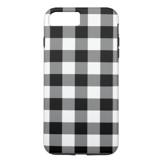 Caso más del iPhone 7 blancos y negros del modelo Funda iPhone 7 Plus