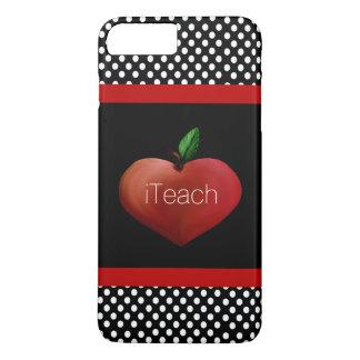 Caso más del iPhone 7 de Apple del profesor rojo Funda iPhone 7 Plus