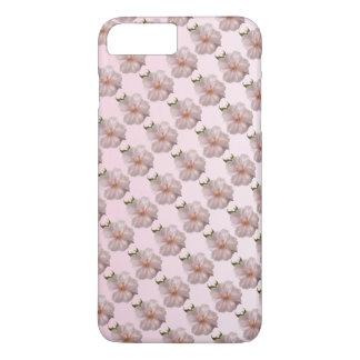 Caso más del iPhone 7 de Sakura de la flor de Funda iPhone 7 Plus