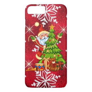 Caso más del iPhone 7 de Santa del navidad apenas Funda iPhone 7 Plus