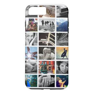 Caso más del iPhone 7 del collage de la foto (- Funda iPhone 7 Plus