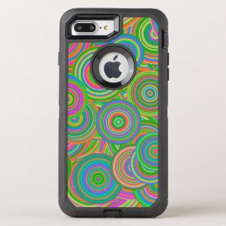Caso más del iPhone 7 psicodélicos de Otterbox de Funda OtterBox Defender Para iPhone 7 Plus