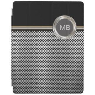 Caso masculino del iPad del monograma de los hombr Cubierta De iPad
