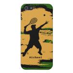 Caso masculino del iPhone 5 del jugador de tenis iPhone 5 Cobertura