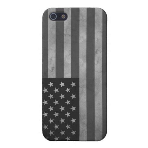 Caso mate del final del iPhone 5 de la bandera ame iPhone 5 Fundas