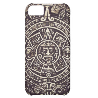 Caso maya del arte iPhone5 del calendario Funda Para iPhone 5C