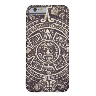 Caso maya del iPhone 6 del arte del calendario Funda De iPhone 6 Barely There