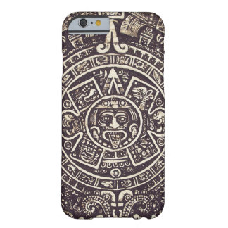 Caso maya del iPhone 6 del arte del calendario Funda Para iPhone 6 Barely There
