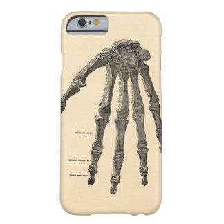 Caso médico del iPhone 6 de los huesos de mano de Funda Barely There iPhone 6