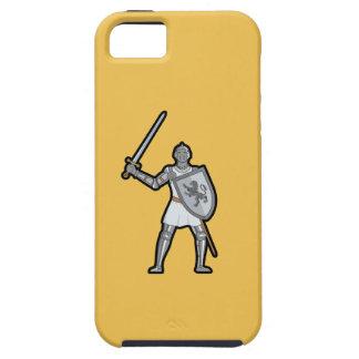 Caso medieval acorazado del iPhone 5/5S del iPhone 5 Carcasas