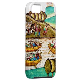 Caso medieval de las crónicas iPhone4 iPhone 5 Fundas