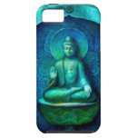 Caso Meditating del iPhone 5 de Buda del zen iPhone 5 Case-Mate Protectores