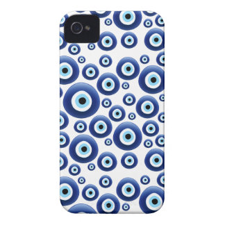Caso mediterráneo de la protección de mal de ojo iPhone 4 Case-Mate protectores