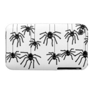 Caso melenudo del iPhone 3 de las arañas del iPhone 3 Carcasa