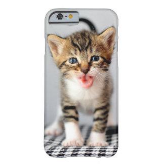 Caso Meowing del iPhone 6 del gatito