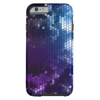 Caso metálico abstracto del iPhone 6 del encanto Funda De iPhone 6 Tough