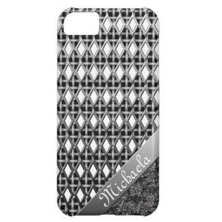 Caso metálico intrépido y hermoso iPhone5 Funda iPhone 5C